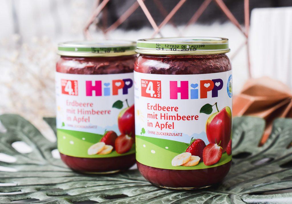 HiPP Früchte Gläschen Beikost Erfahrungen Tipps Obstbrei Hippgeschmackstest Babynahrung Spurenelemten Vitamine