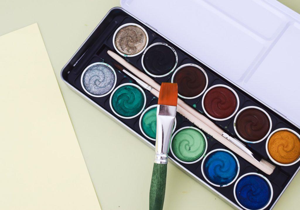 JOLLY Wasserfarben Pinsel Kleinkinder Erfahrungen Test Bericht