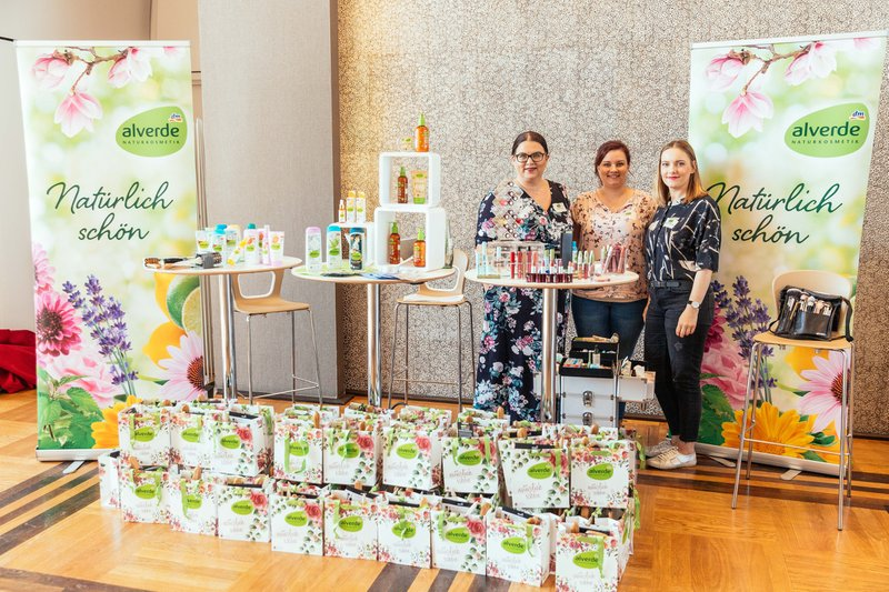 "Beautypress Naturkosmetik Bloggerevent Köln Flora ""Green Cosmetics"" April 2018 alle Marken Beautyblogger Event Alverde"