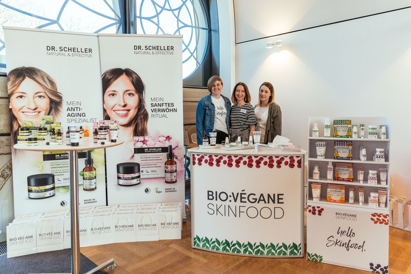 "Beautypress Naturkosmetik Bloggerevent Köln Flora ""Green Cosmetics"" April 2018 alle Marken Beautyblogger Event Bio Vegane Skinfood"