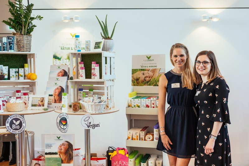 "Beautypress Naturkosmetik Bloggerevent Köln Flora ""Green Cosmetics"" April 2018 alle Marken Beautyblogger Event cosnature"