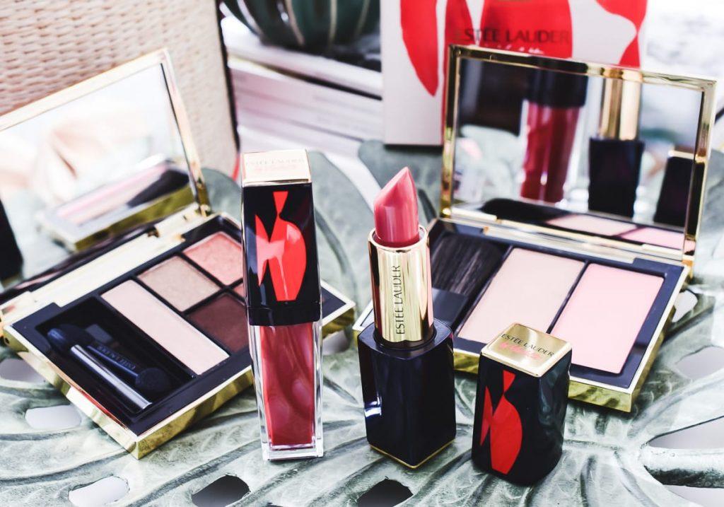 Estée Lauder Poppy Sauvage Collection Violette PR-Sample Paket Beautyblog Liquid Lip Color Pure Color Envy Sculpting Lipstick