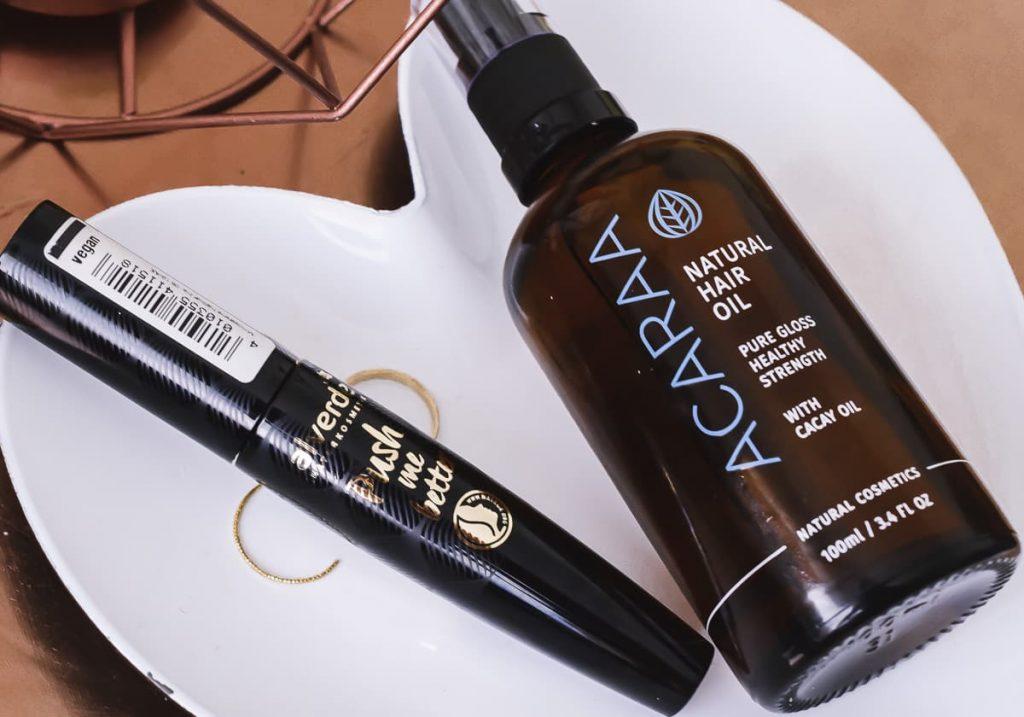 Naturkosmetik Empfehlungen Favoriten Beautyblogger Weleda Oliveda Luvos Alverde ACARAA Körpercreme Gesichtscreme Mascara Haaröl