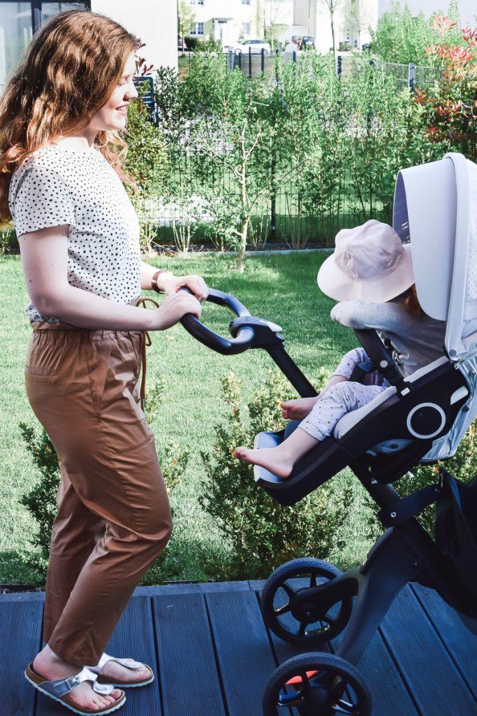 Stokke Xplory V6 Kinderwagen Vergleich V5 Vorgänger Modell Änderungen Verbesserungen Kombi-Kinderwagen Babys Kleinkinder Erfahrungen Test Bericht Kinderwagentest