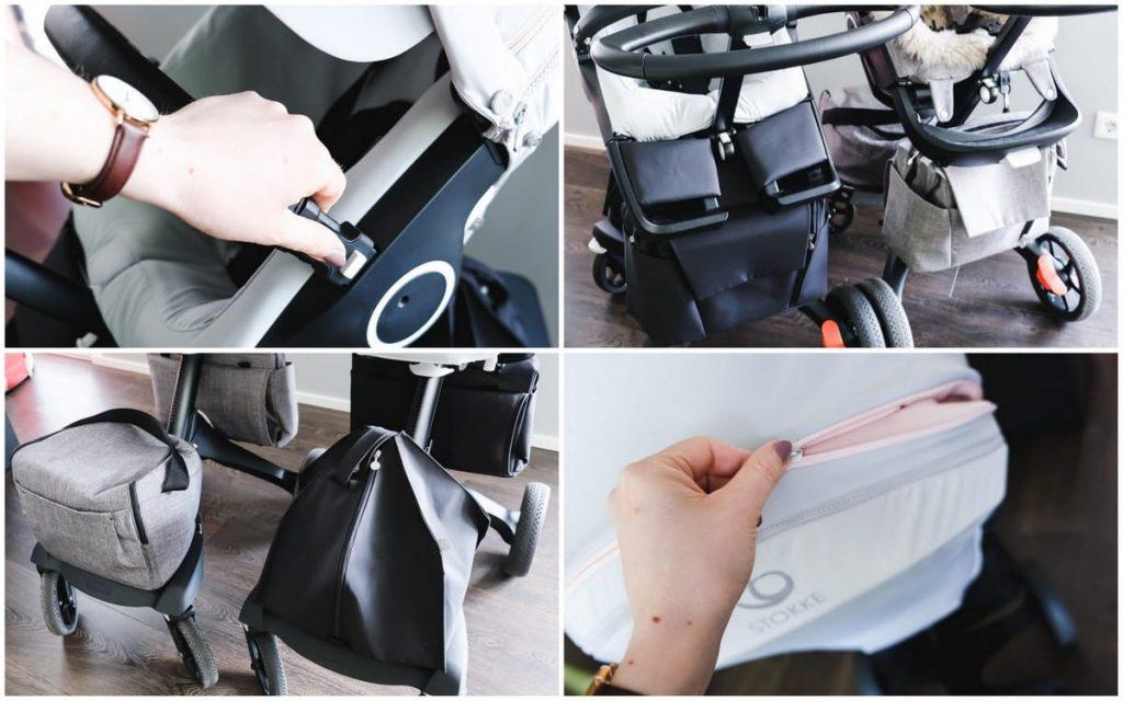 Stokke Xplory V6 Kinderwagen Athleisure Pink Tasche Vergleich V5 Vorgänger Modell Änderungen Verbesserungen Kombi-Kinderwagen Babys Kleinkinder Erfahrungen Test Bericht Kinderwagentest