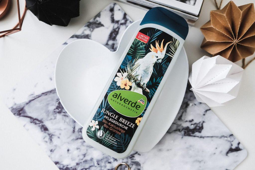 Alverde Jungle Breeze Pflegedusche Naturkosmetik Duschgel I need sunshine Review Test Erfahrungen Limitiert bei dm Drogerie