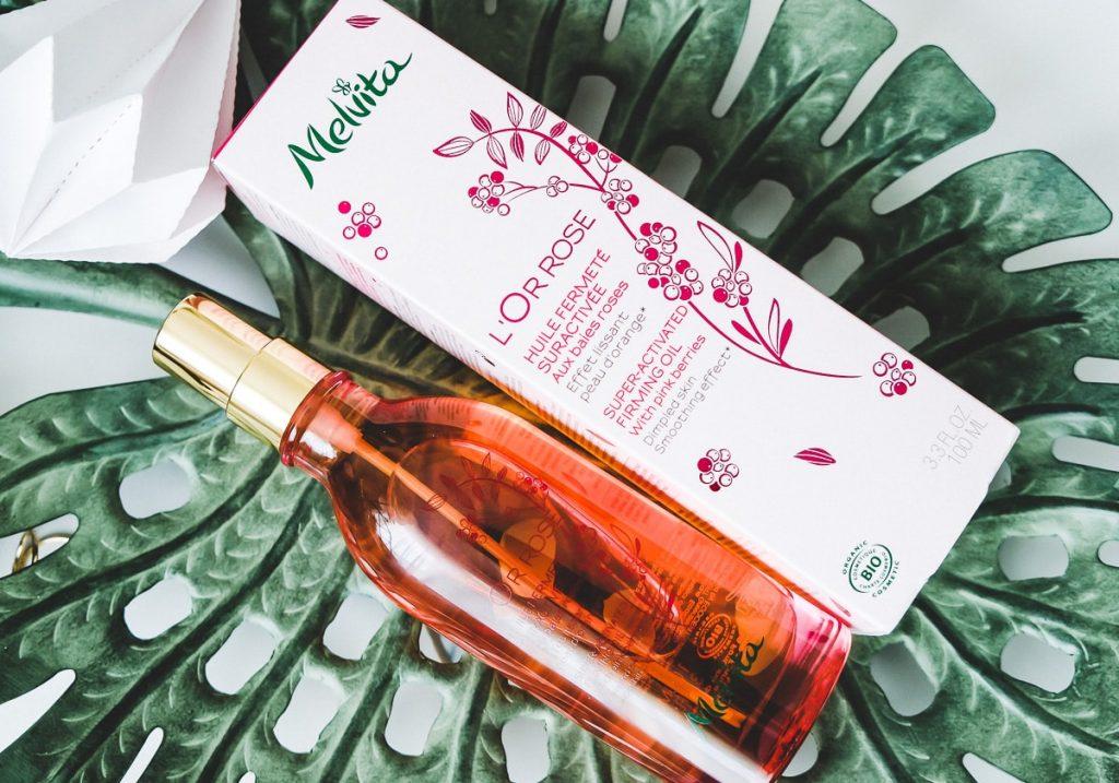 Melvita L'Or Rose straffendes Körperöl Naturkosmetik Erfahrungen Test Review Beautyblog I need sunhine