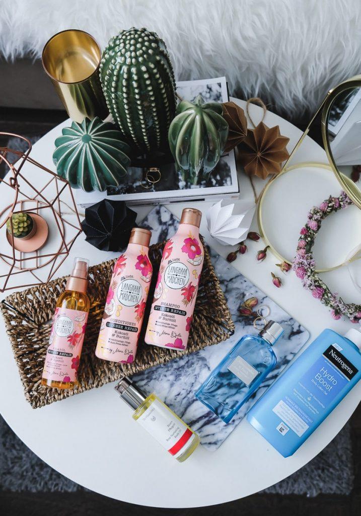 Beauty Favoriten im Juni mit Langhaarmädchen Haarpflege von dm im Test, Pflegefavoriten und Sommerparfum