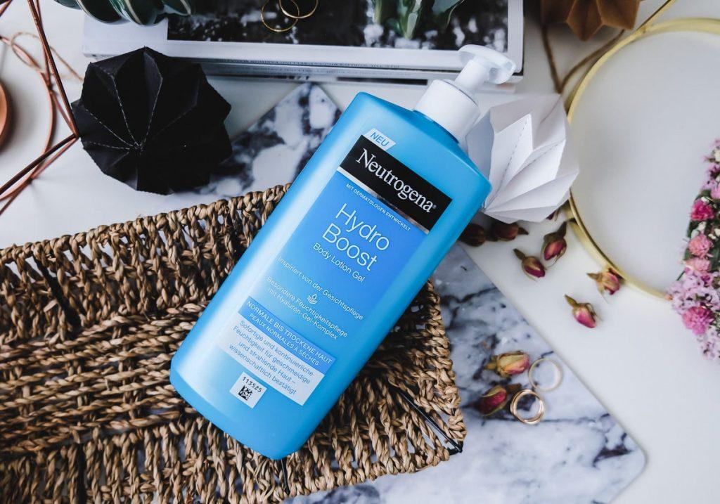 Neutrogena Hydro Boost Body Lotion Gel Erfahrungen Bewertungen Test Bericht auf Beauty Blog I need sunshine