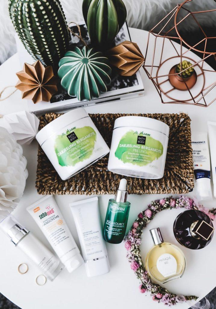 Kosmetik Favoriten Neuheiten Mutter und Kind Körperpflege Gesichtspflege Badeprodukte Parfums Juli