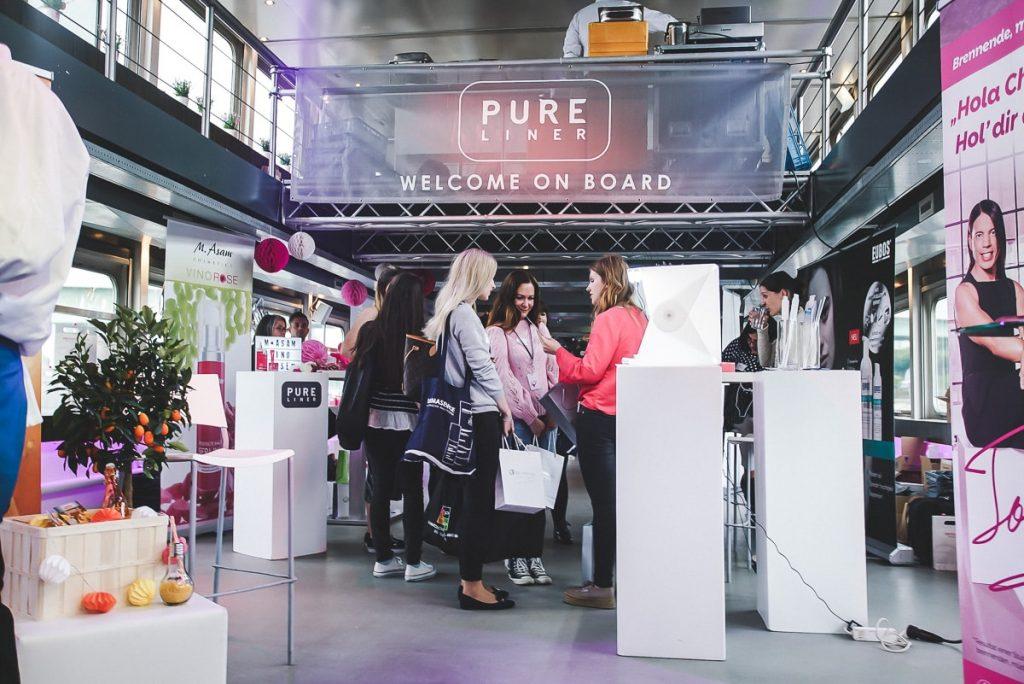 Beautypress Blogger Event Leinen Los in Köln auf dem Pureliner Event Schiff Köln Mühlheim