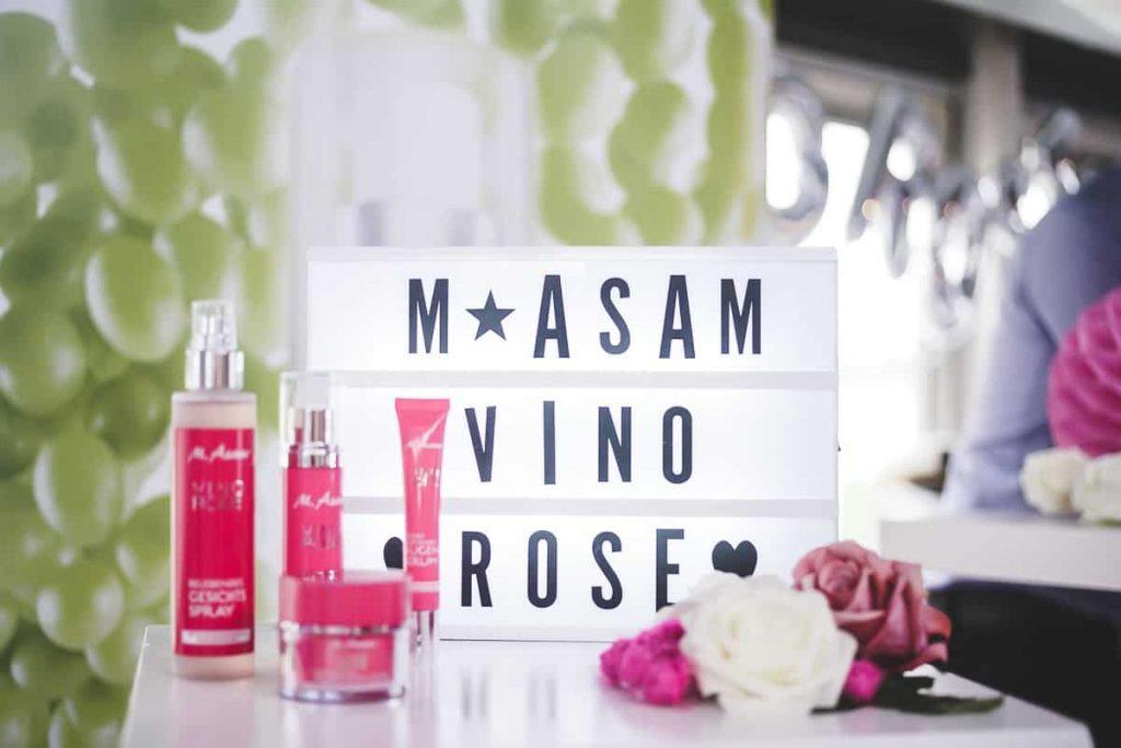 M.Asam Vino Rose bei Rossmann Hautpflege Creme Kosmetik auf Beautypress Bloggerevent in Köln