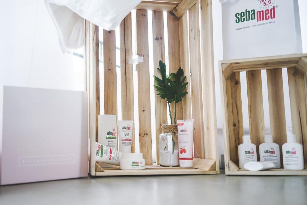 Sebamed Kosmetik beim Beautypress Event Leinen Los in Köln