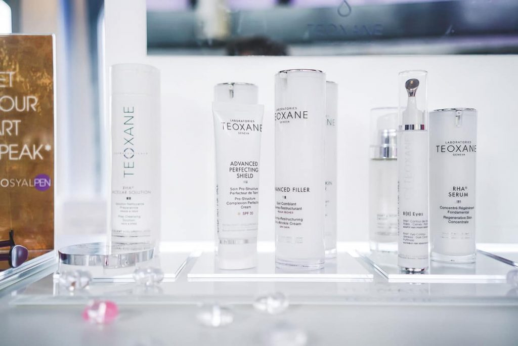 Kosmetik von Teoxane auf dem Beautypress Blogger Event Leinen Los in Köln