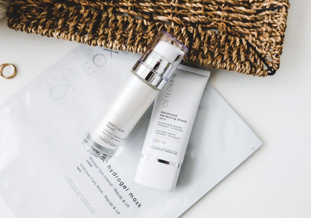 Teoxane Gesichtspflege Advanced Perfecting Shield Rha Serum Hydrogel Maske Test Erfahrungen Review Beautyblog I need sunshine