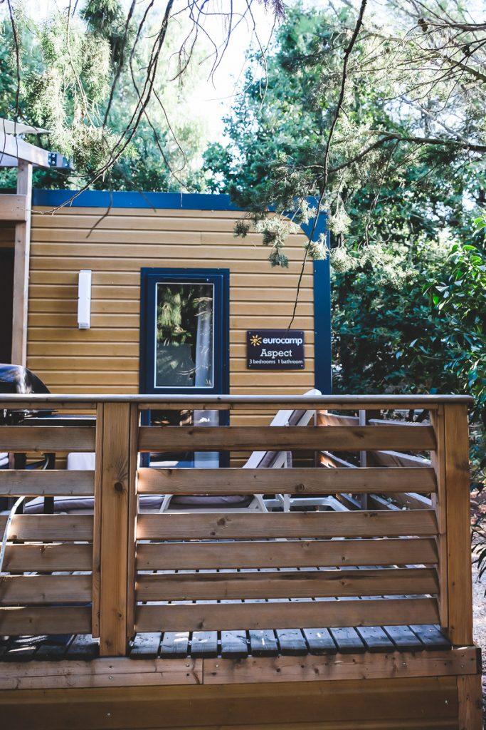 Erfahrungen mit dem Eurocamp Luxus-Mobilheim Aspect und Bilder vom Kinderzimmer mit Hochbett in Südfrankreich auf Mamablog I need sunshine
