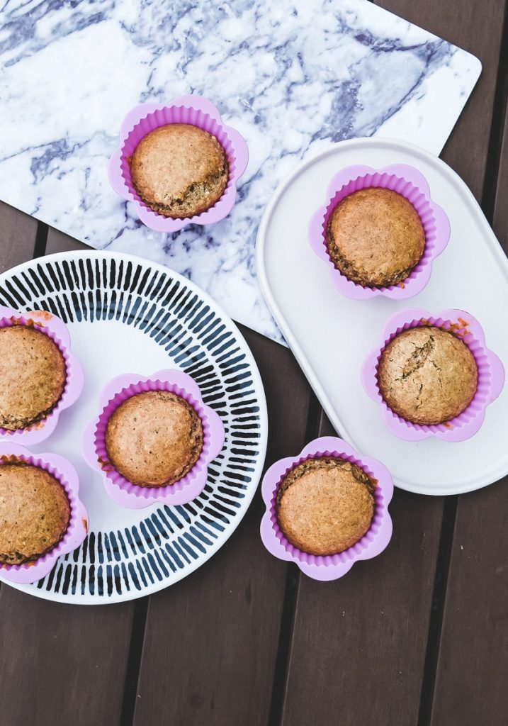 Schnelle und einfache Muffins Kindergeburtstag Rezept Haferflocken Kokos Muffins für Kinder auf Mamablog I need sunshine
