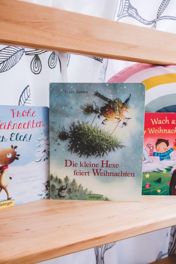 Die kleine Hexe feiert Weihnachten von Lieve Baeten und weitere Empfehlungen und Tipps für schöne moderne Weihnachtsbücher für Kinder auf Mamablog I need sunshine