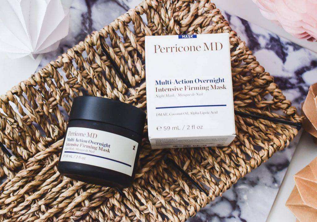DR. PERRICONE Multi Action Overnight Intensive Firming Mask Erfahrungen im Test Bericht auf Ineedsunshine