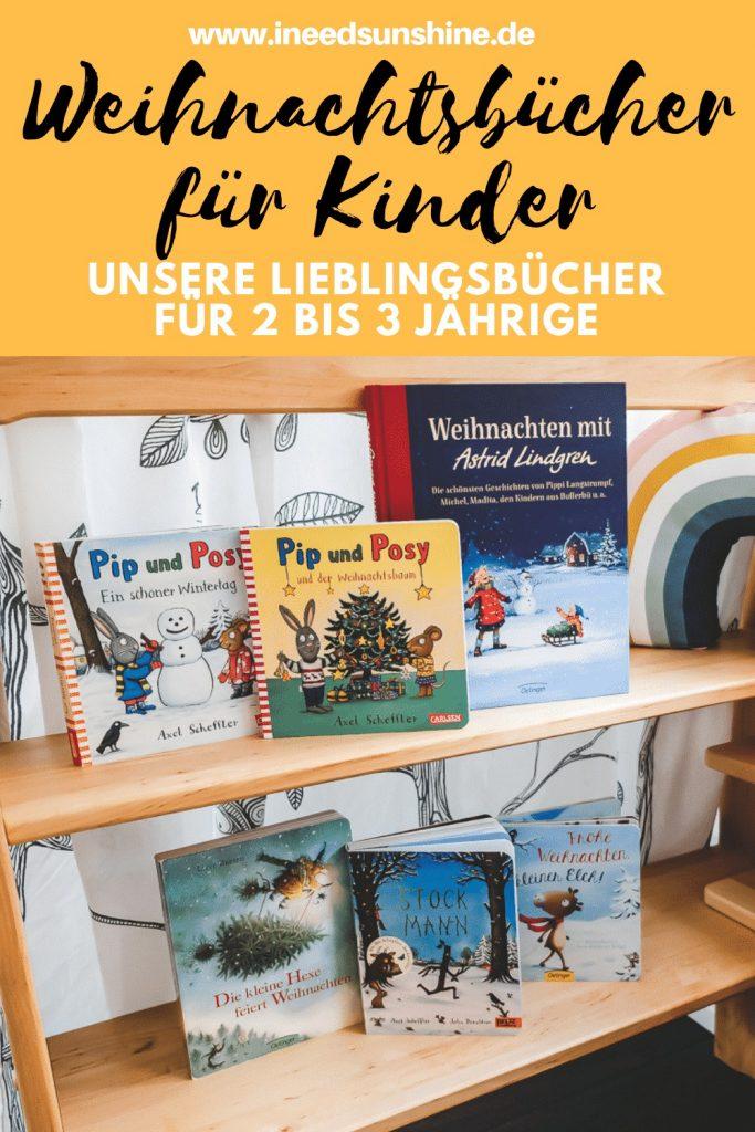 Tipps und Empfehlungen für schöne Weihnachtsbücher für Kleinkinder 2 bis 3 Jahre auf Mamablog I need sunshine