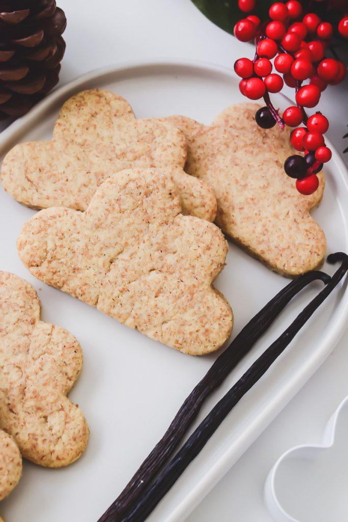 Rezept für schnell und einfache Vanille-Kekse zum Ausstechen für das Backen mit Kindern zu Weihnachten auf Mamablog I need sunshine