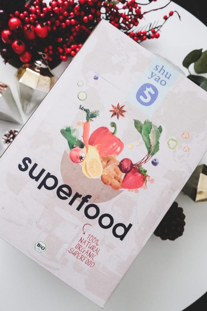 Zweites Adventsgewinnspiel im Blogger Adventskalender Gewinnspiel mit Shuyao Box Bio Tea & Superfood auf Mamablog I need sunshine