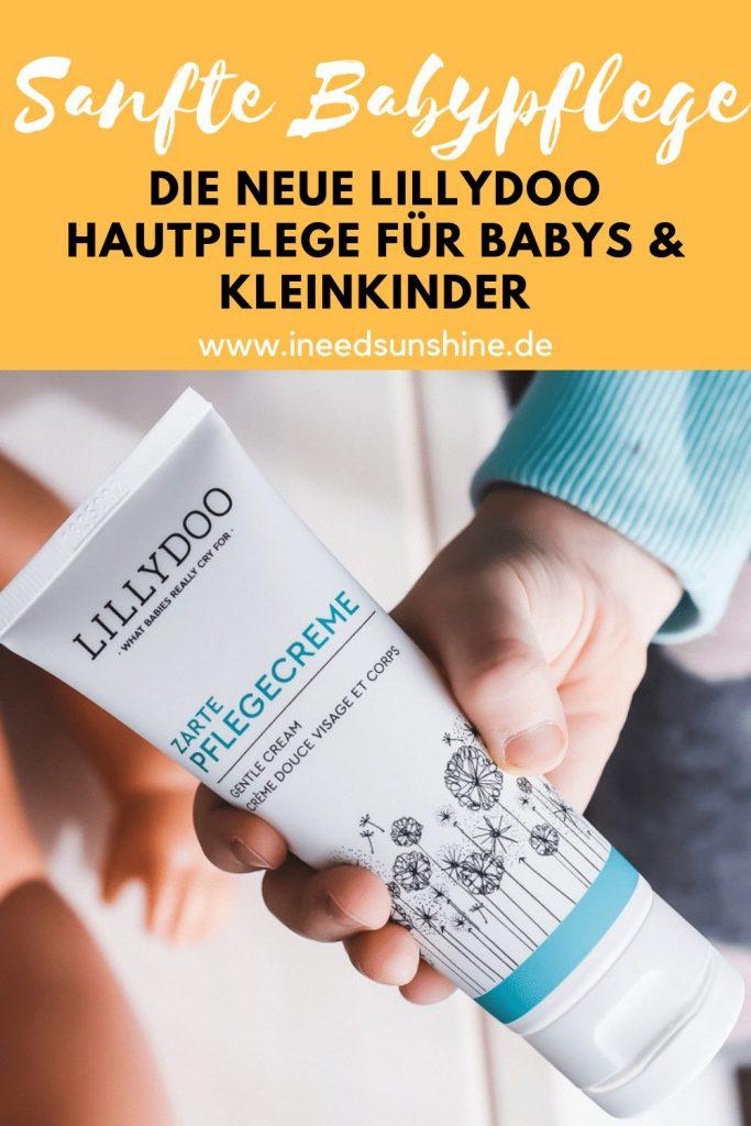 LILLYDOO Zarte Pflegecreme und Mandelöl für Babys und Kleinkinder im Test mit Erfahrungen und Tipps auf Mamablog I need sunshine