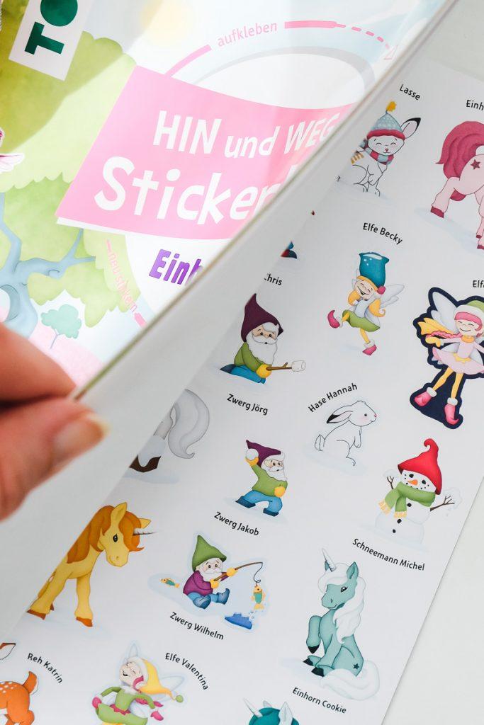 Kleine Ostergeschenke für Kinder und Kleinkinder unter 10 Euro Ideen Tipps und Erfahrungen mit Stickerbüchern auf Mamablog Ineed sunshine