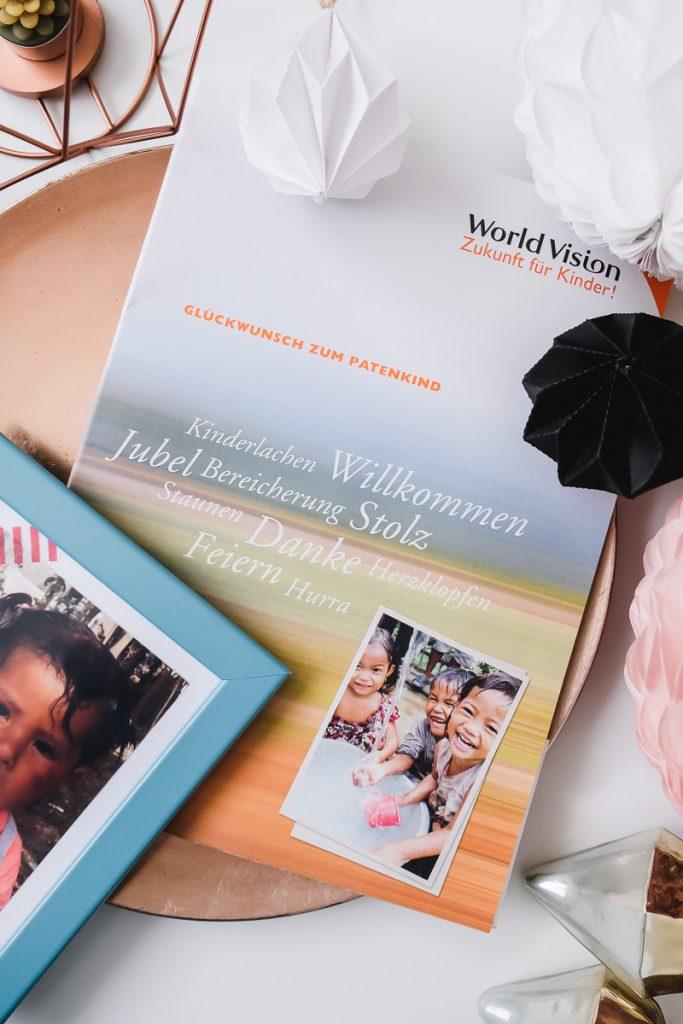 Gutes tun im Alltag und anderen eine Freude machen Ideen mit World Vision Deutschland Kinderpatenschaft und weitere Ideen für gute Taten auf Mamablog Ineedsunshine