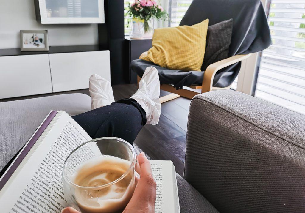 Scholl Intensiv pflegende Fußmaske in Socken Erfahrungen und Testbericht auf Ineedsunshine