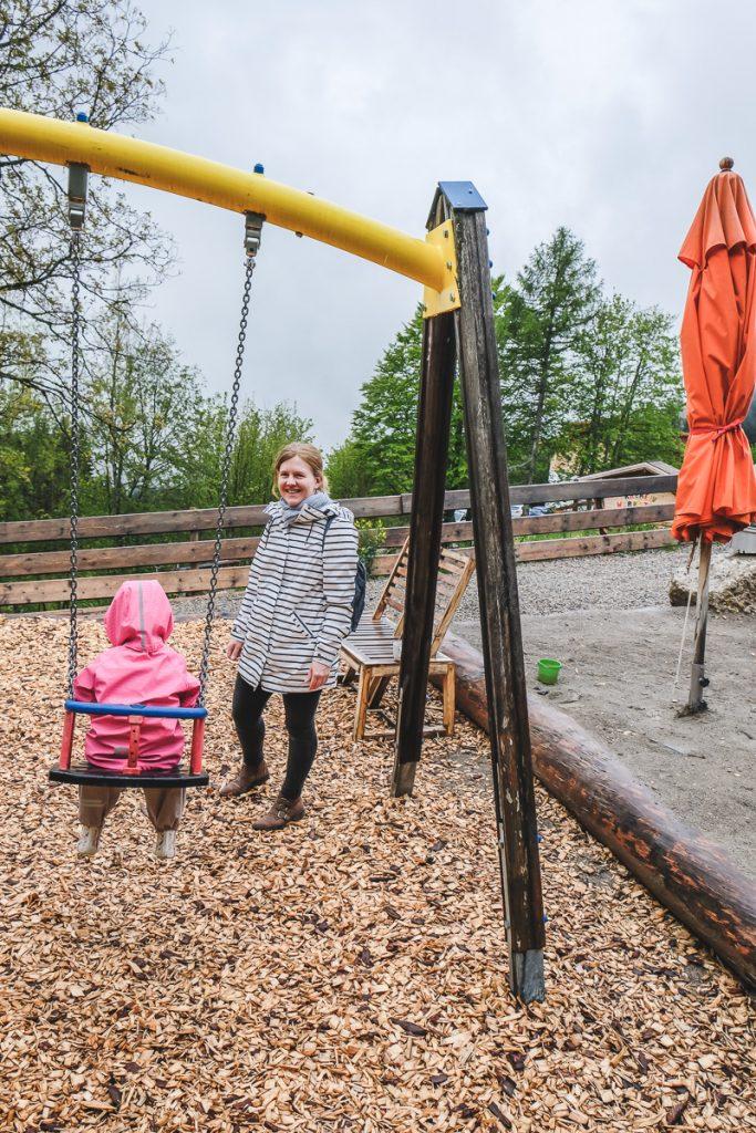 Familotel Allgäuer Berghof Spielplätze drinnen und draußen