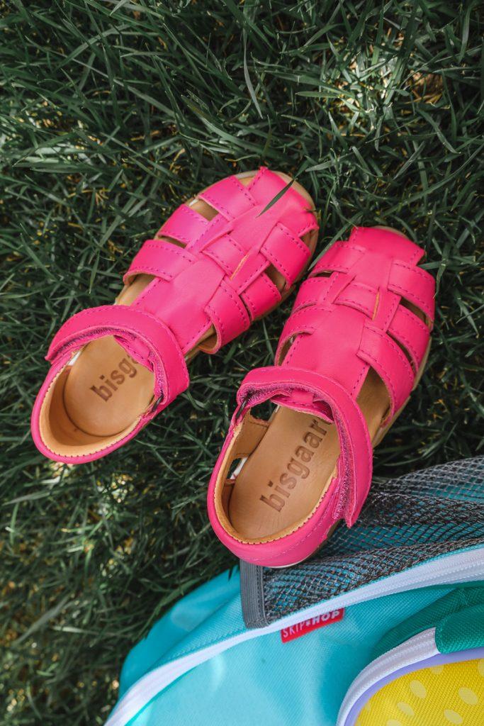 Bisgaard Sandalen für Kinder im Test auf Mamablog Ineedsunshine