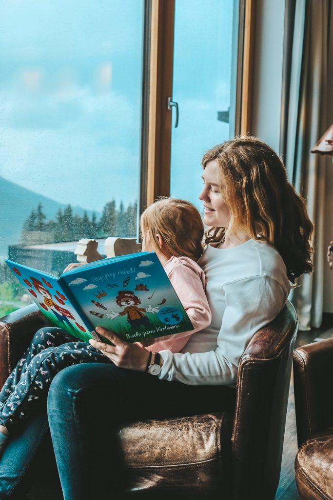 Wellnesshotel Allgäu mit Kindern für Entspannung für die ganze Familie im Familienhotel Allgäuer Berghof