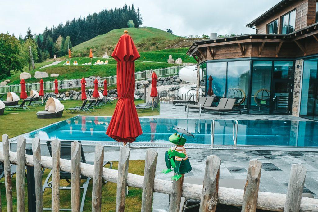 Wellnesshotel Allgäu Familotel Allgäuer Berghof Familienhotel mit Schwimmbad Wellness Sauna