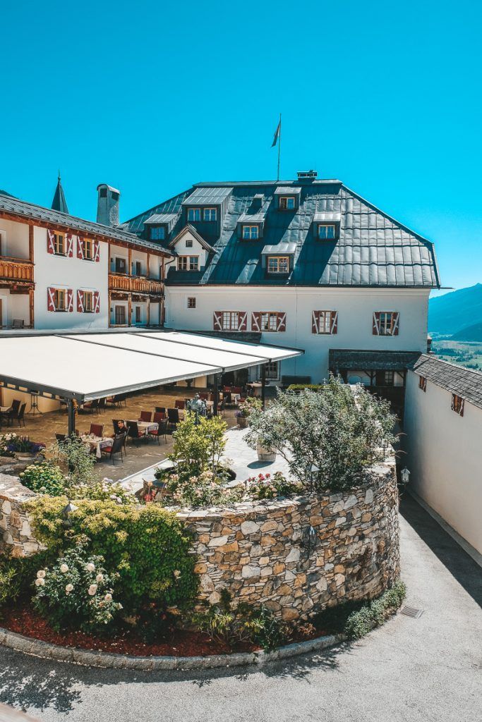 Schloss Mittersill in Österreich Hotel Bewertung Reisen mit Kindern Familienurlaub Ineedsunshine