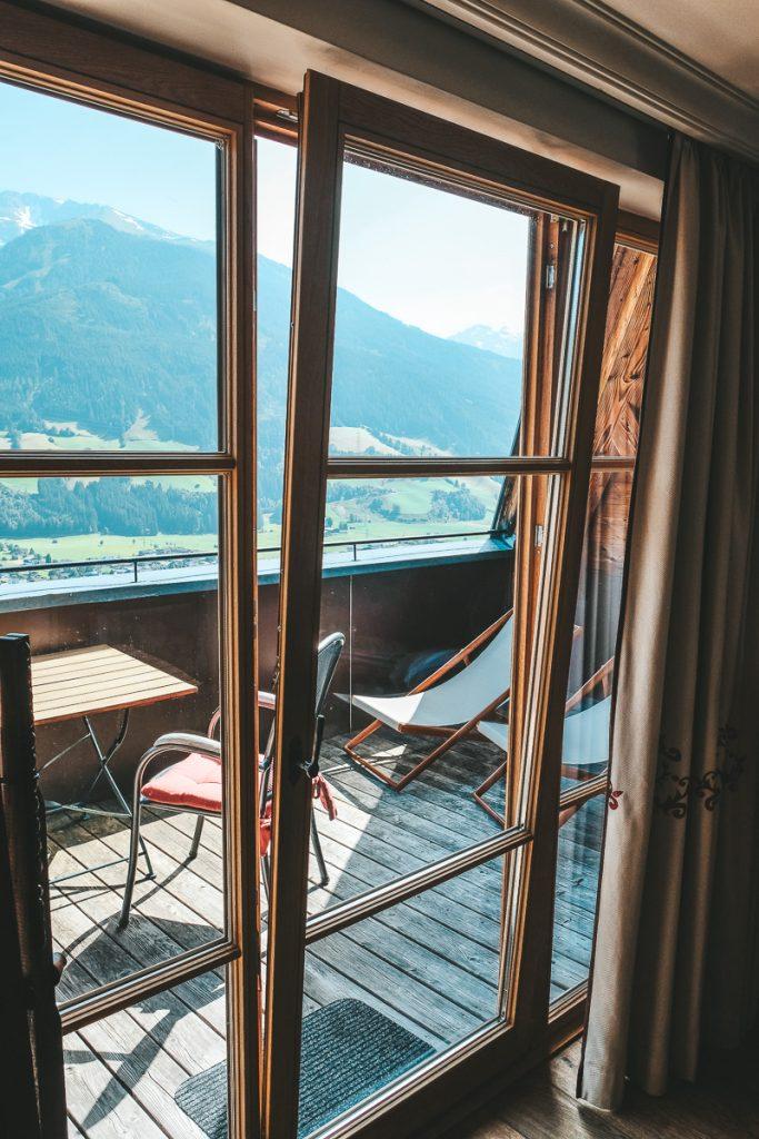 Schloss Mittersill Zimmer und Suiten mit Balkon für Familienurlaub in Österreich