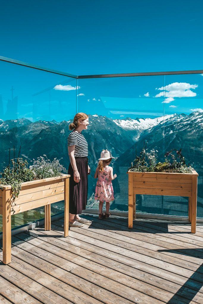 Schloss Mittersill Urlaub in Österreich Ausflüge für Familien mit Kindern Wildkogel Arena