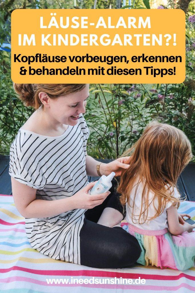 Kopfläuse erkennen und behandeln bei Kindern und Tipps für Hilfe und Vorbeugung bei Läusen im Kindergarten und in der Schule auf Mamablog Ineedsunshine