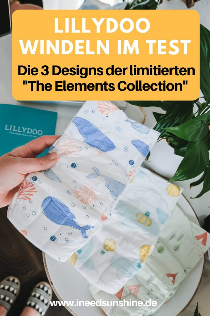 LILLYDOO The Elements Collection limitiertes Windel Design im Test