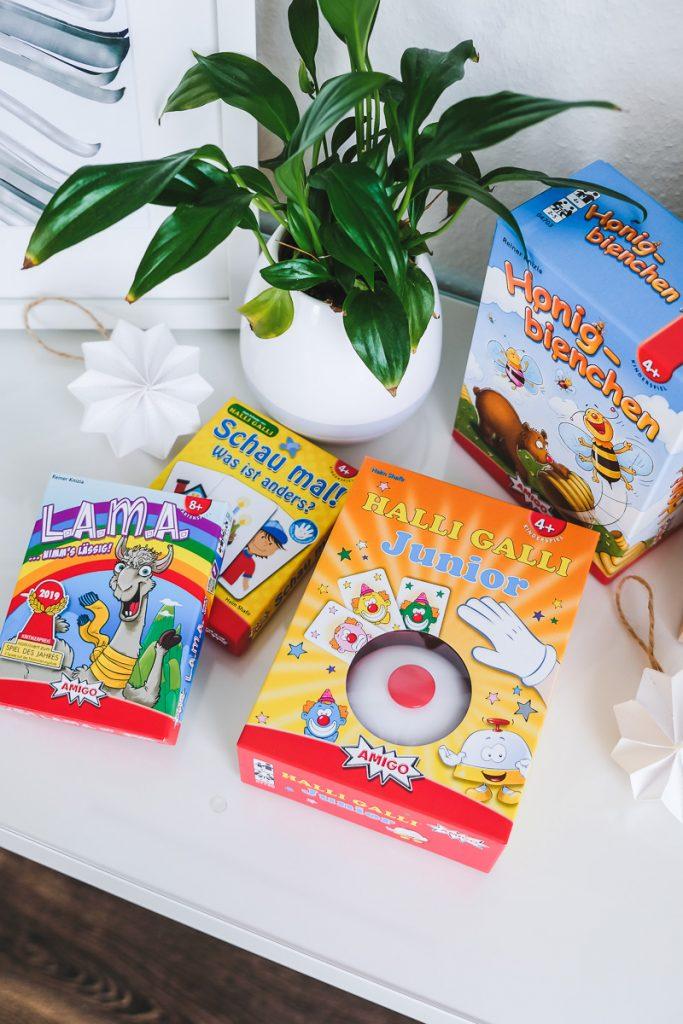 Spiele ab 4 Jahren für die Ferienzeit mit Empfehlungen Gesellschaftspielen von AMIGO auf Mamablog I need sunshine