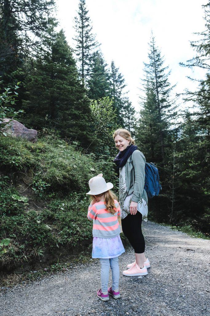Liechtenstein Urlaub mit kleinen Kindern Wandern Entdeckertour
