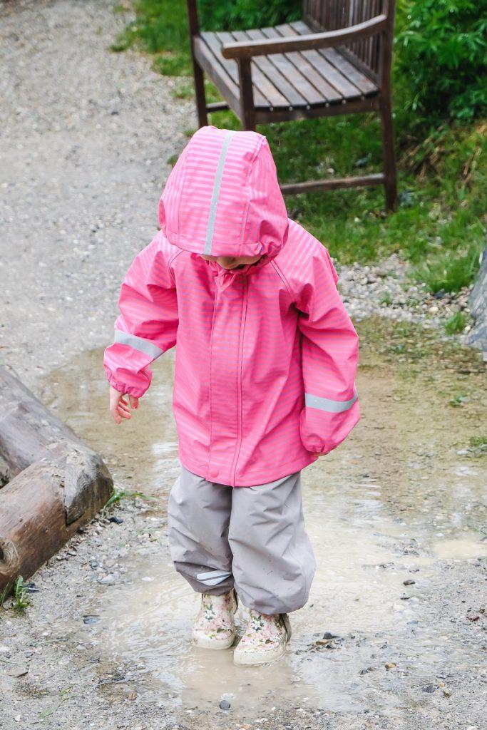 Kinder Herbst Regenjacke von Reima Erfahrungen auf Mamablog Ineedsunshine