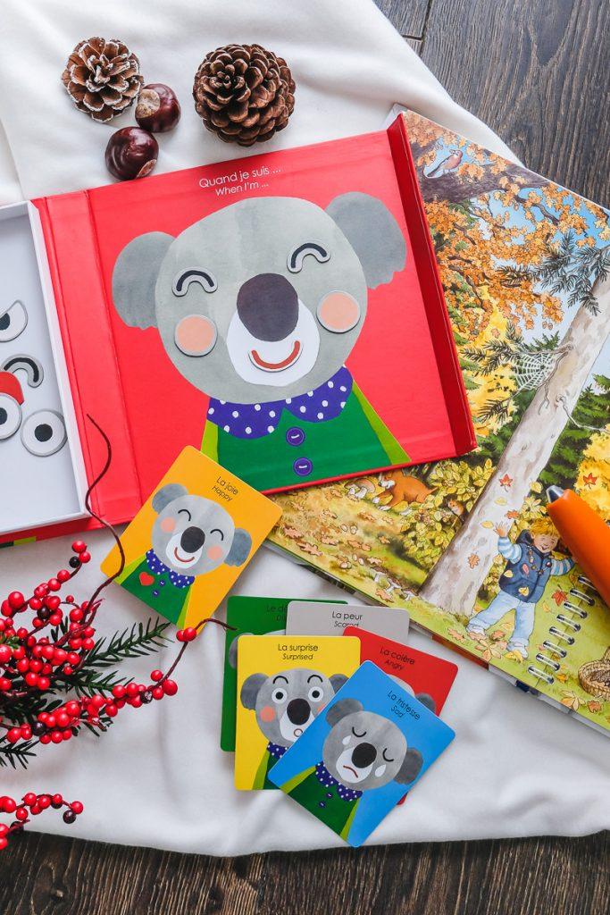 Spielideen Kinder Herbst Moulin Roty Magnetspiel Koalabär mit Emotionen auf Mamablog Ineedsunshine