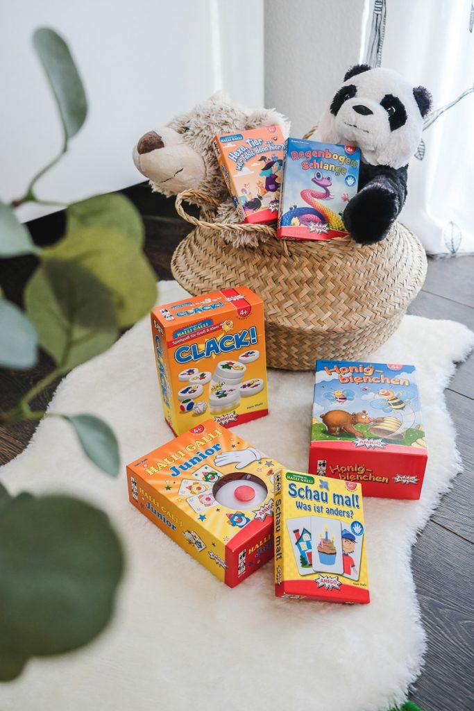 Amigo Spiele für 4 Jährige im Testbericht mit Empfehlungen auf Mamablog Ineedsunshine