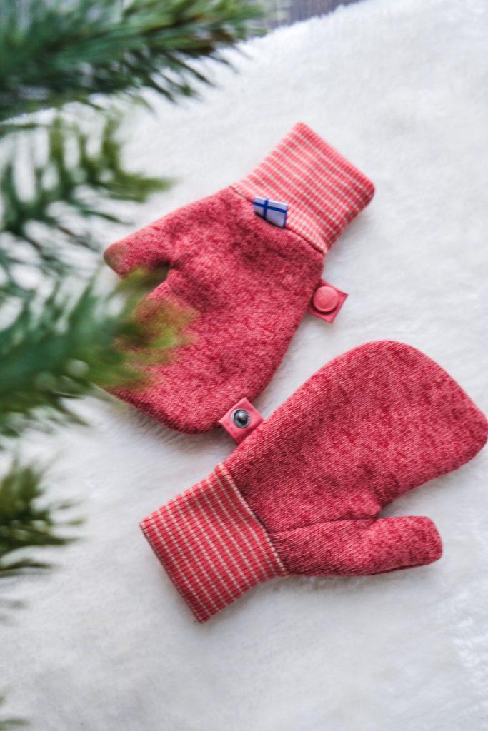 Strickfleece Fäustlinge Handschuhe von Finkid für Kinder Test
