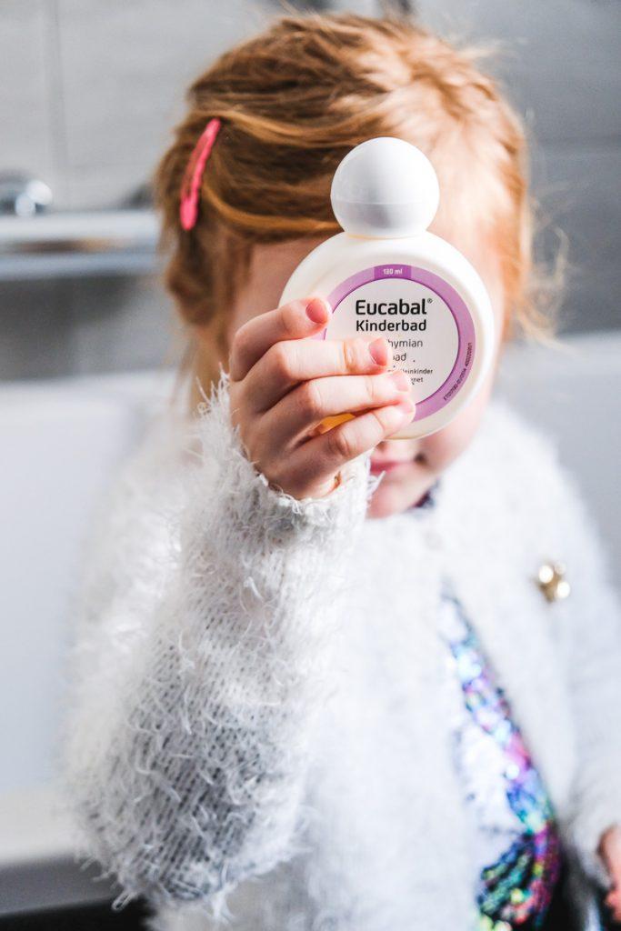 Eucabald Kinderbad mit Thymian Erkältung bei Kindern schnell loswerden