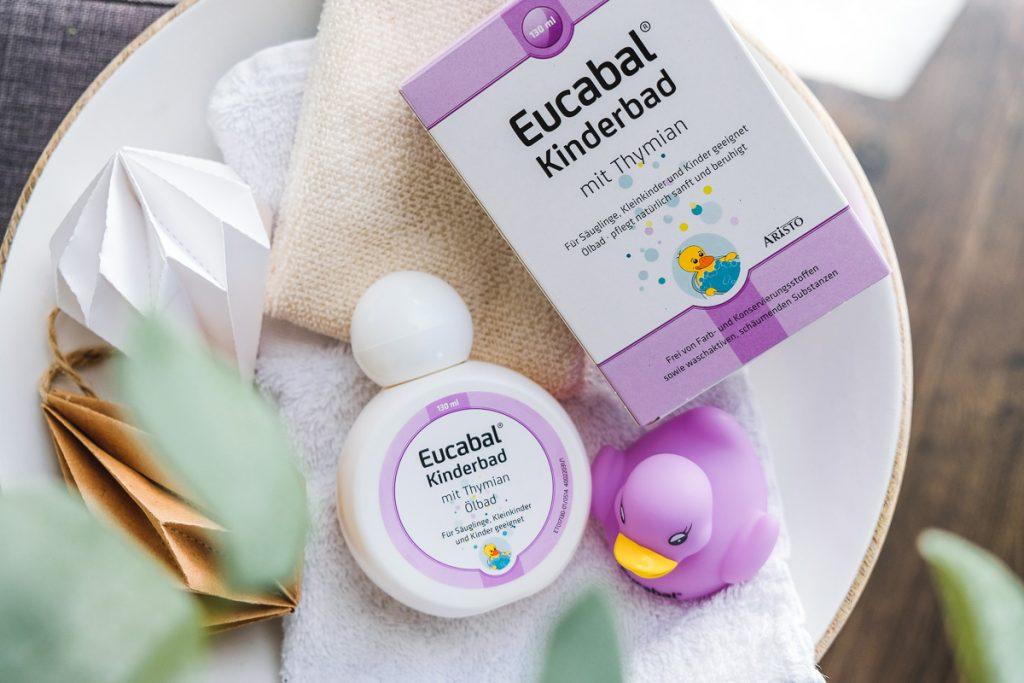 Eucabal Kinderbad mit Thymian gegen Erkältung bei Kindern Tipps Erfahrungen