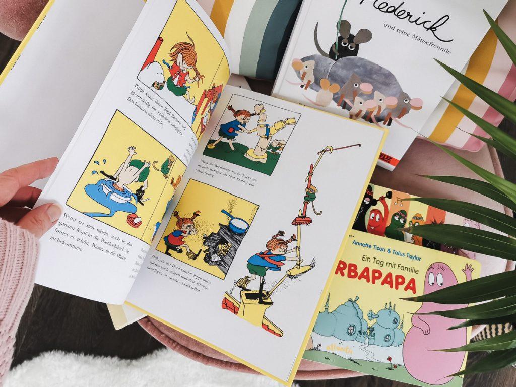 Kinderbücher Klassiker zum Vorlesen ab 4 Jahren Pippi Langstrumpf