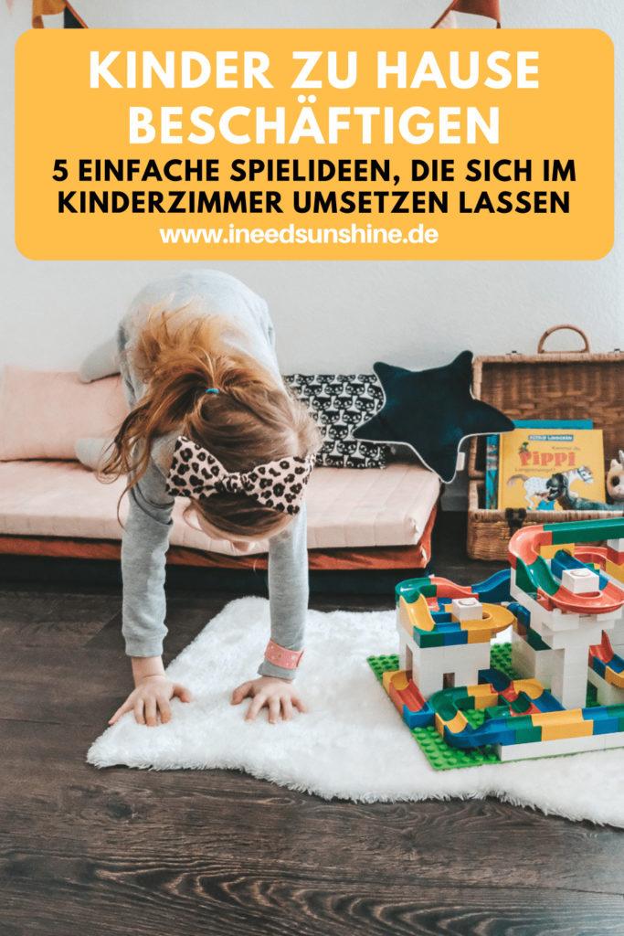 Kinder zu Hause beschäftigen Ideen auf Mamablog Ineedsunshine