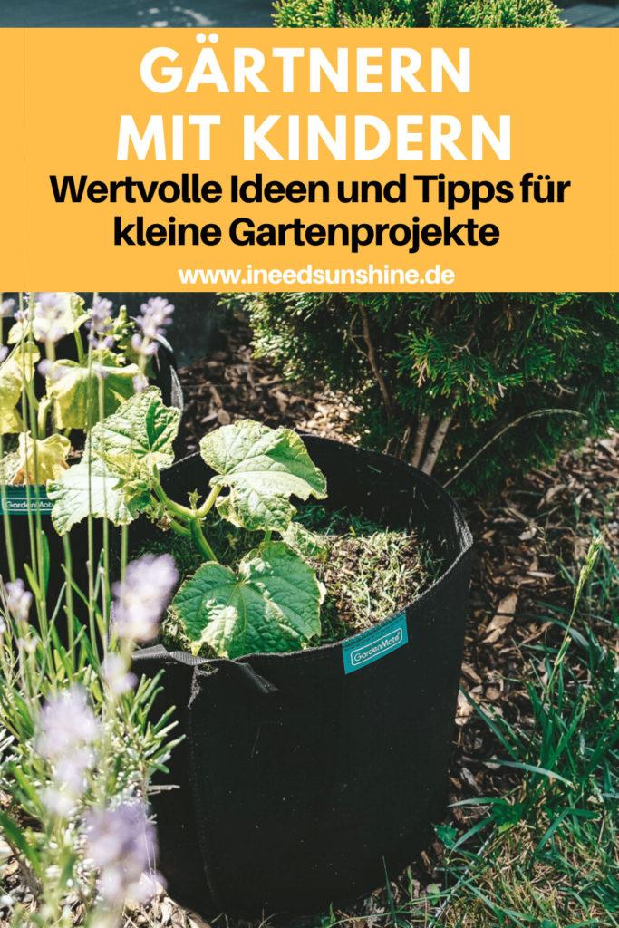 Gärtnern mit Kindern Ideen und Tipps